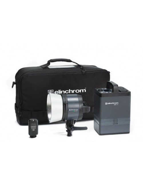 Kit Elinchrom ELB 1200 Pro To Go flash autonomo con antorcha