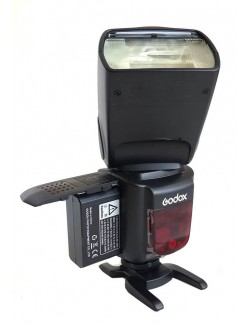 Godox Ving V860II Fuji - Flash HSS y bateria Litio