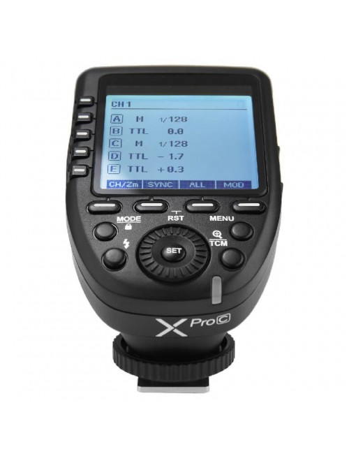 Godox XPro Canon disparador radio para flashes Canon