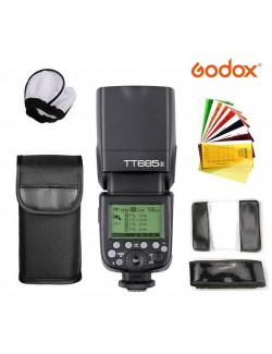Kit Godox TT685 Sony con difusor y geles de color