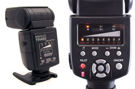 Flashes Yongnuo YN-460 y YN560