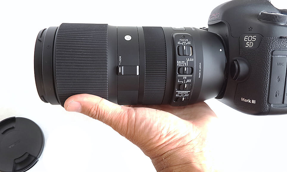 Review objetivo zoom Sigma 100-400mm Contemporary
