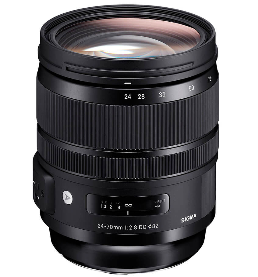Mejor Zoom luminiso para Canon Sigma 24-70mm F2.8 DG OS HSM Art