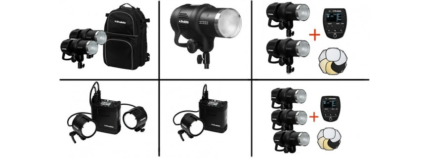 Kit flashes autonomos Profoto