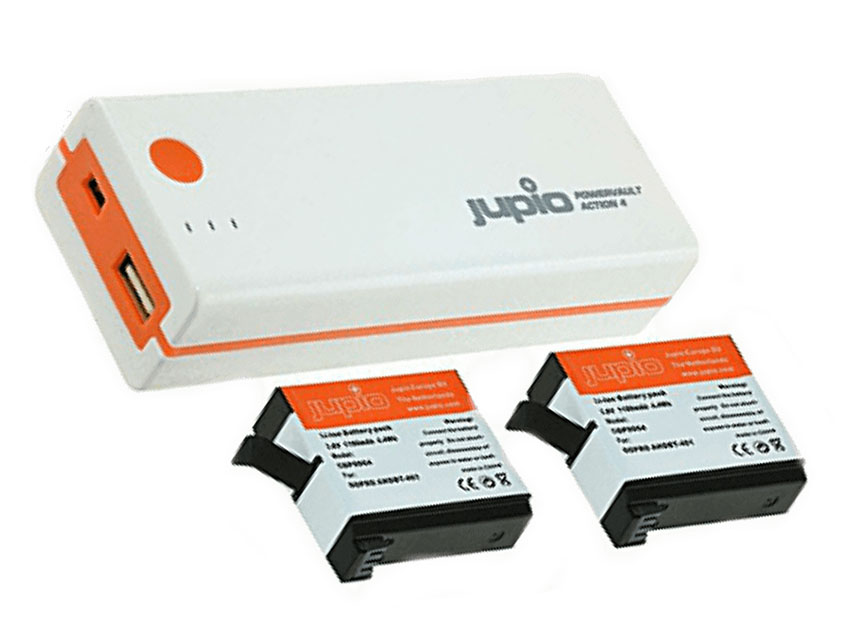 Power Bank Jupio Camaras Action GoPro 4